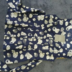 Anthropologie size 0 tie bow top shells